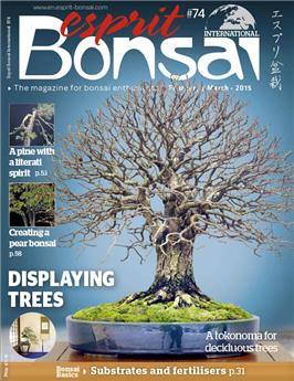 Esprit Bonsai International #74 Feb-March 2015