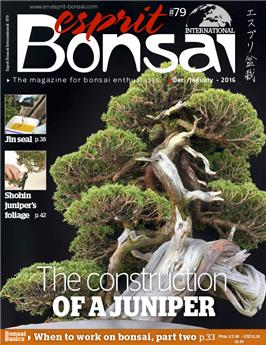 Esprit Bonsai International #79 Dec 2015 - Jan 2016