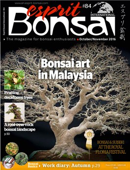 Esprit Bonsai International #84 Oct-Nov 2016