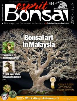 Esprit Bonsai International #84 Oct-Nov 2016