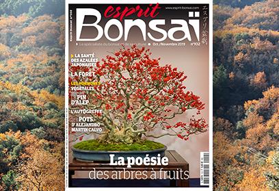Esprit Bonsaï n°102 Octobre-Novembre 2019 La poésie des arbres à fruits