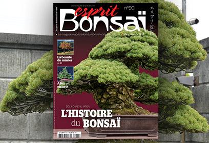Esprit Bonsaï n°90 Octobre-Novembre 2017  L'histoire du bonsaï